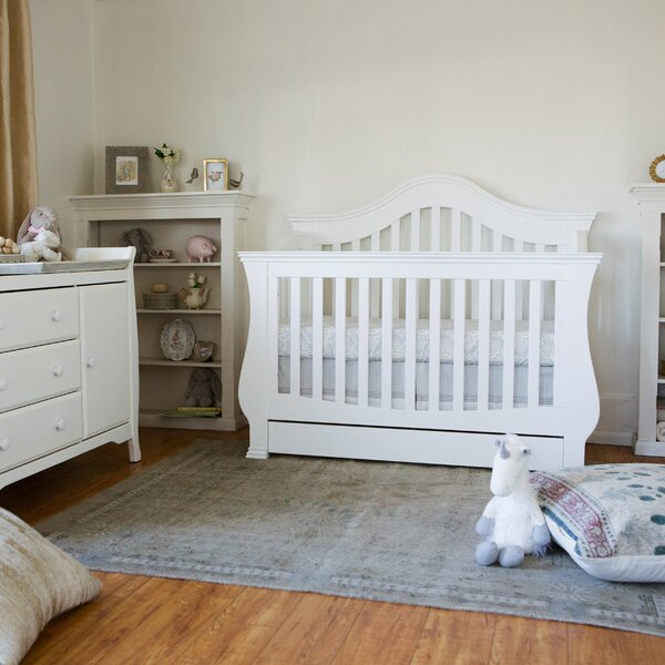 Ashbury 4-in-1 Convertible Crib by Million Dollar