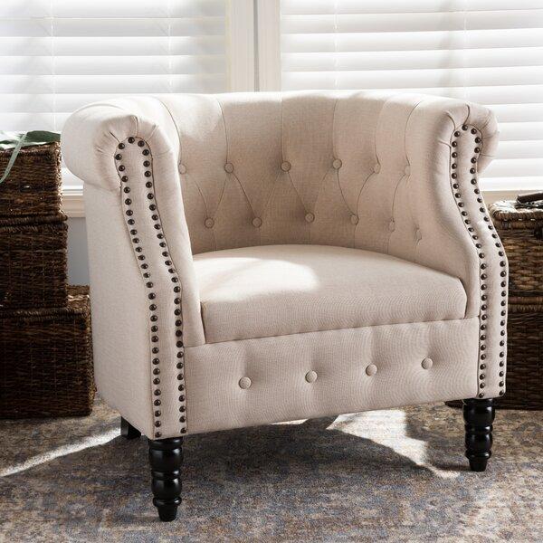 Redbud Barrel Chair by Alcott Hill