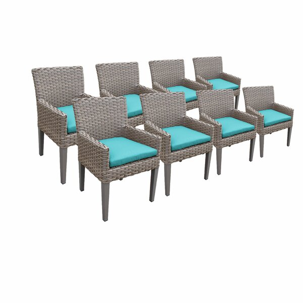 Rochford Patio Dining Chair with Cushion (Set of 8) by Sol 72 Outdoor