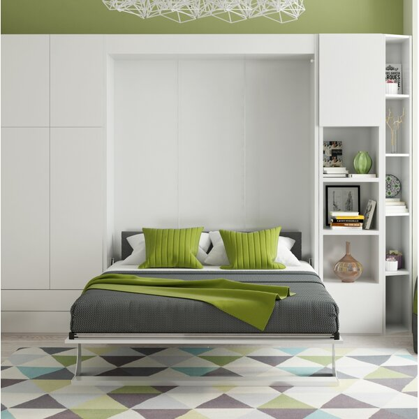 Gautreaux Queen Murphy Bed by Brayden Studio