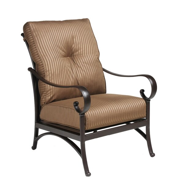 Borland Patio Chair with Cushion by Darby Home Co