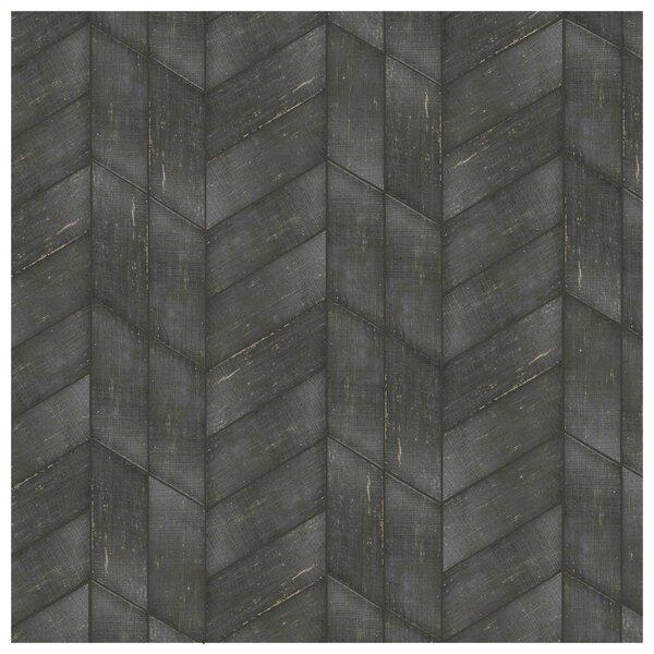 Rama 7.13 x 16.68 Porcelain Wood Look Tile in Negre by EliteTile