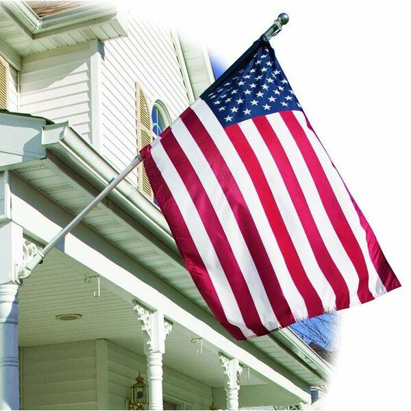 American Embroidered Banner Nylon 3 x 5 ft. Flag by U.S. Flag Store