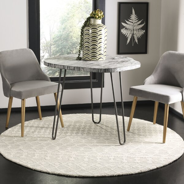 Jeannine Hand-Tufted Wool Gray/Ivory Area Rug by Greyleigh
