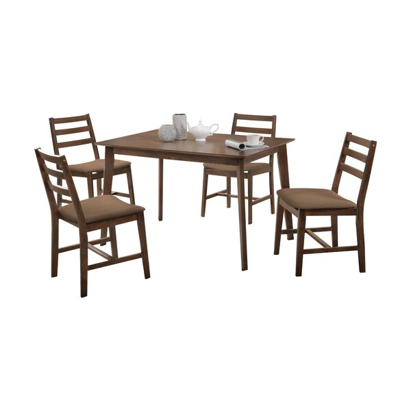 Pascual 5 Piece Dining Set By Loon Peak No Copoun