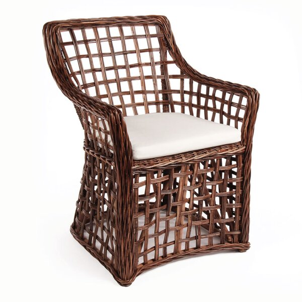 Portsmouth Open Weave Armchair by Bay Isle Home
