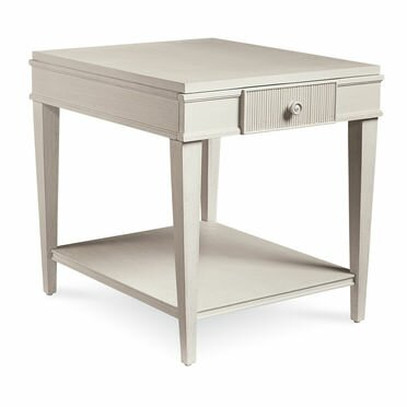 Carrie Drawer End Table by One Allium Way