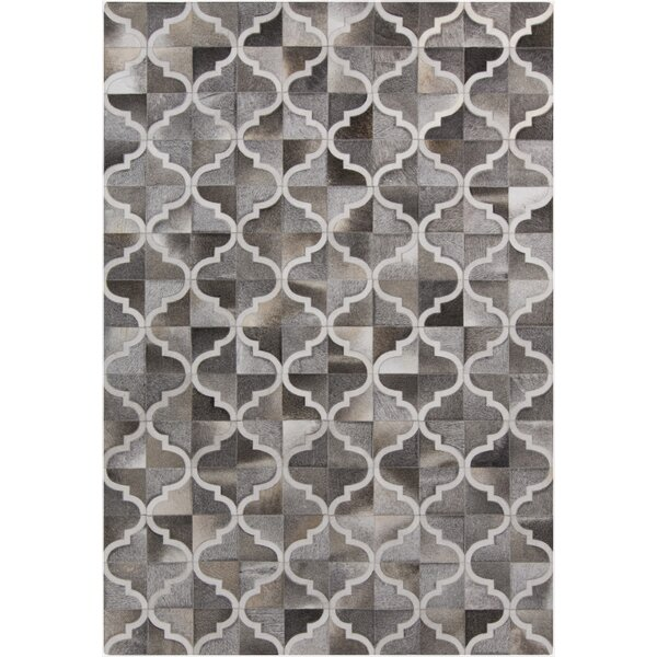 Outback Gray Geometric Area Rug by Surya
