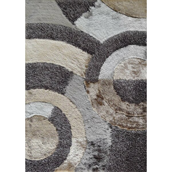 Hand-Tufted Gray Area Rug by Rug Factory Plus