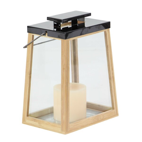Contemporary Trapezoidal Lantern by Foundry Select