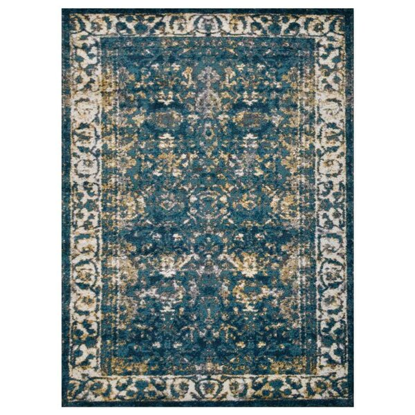 Hartshorn Blue/Green Area Rug by Bungalow Rose