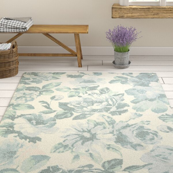 Kifer Light Blue Area Rug by Ophelia & Co.