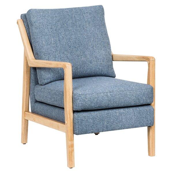 Darrow Wood Framed Armchair By George Oliver