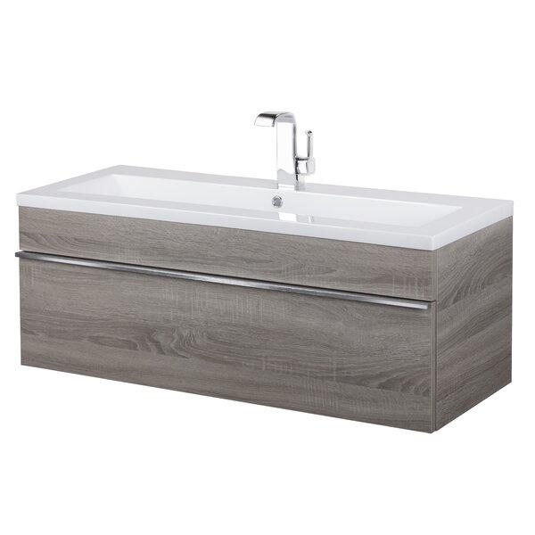 Trough 42 Wall Mounted Single Bathroom Vanity Set by Cutler Kitchen & Bath