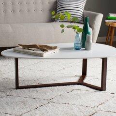 Sensational Modern Walnut Coffee Tables Allmodern Uwap Interior Chair Design Uwaporg