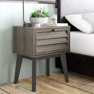 Best Reviews Dover 1 Drawer Nightstand By Trent Austin Design