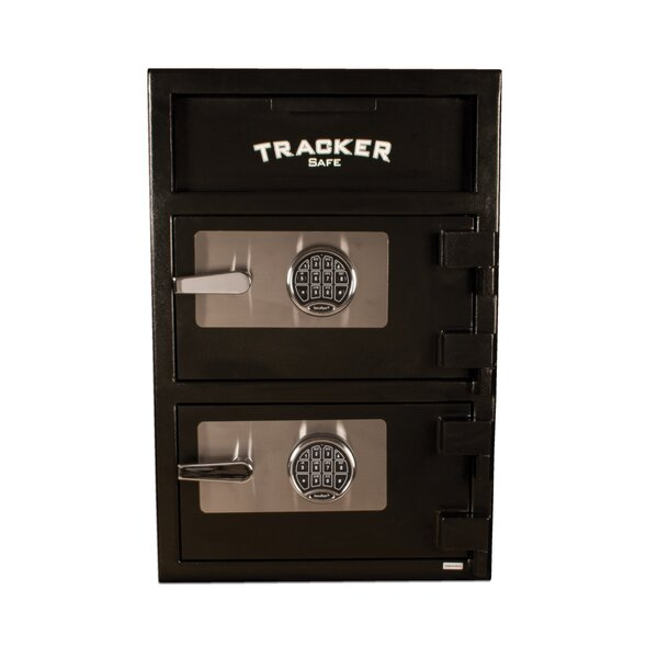 Double Door Steel Deposit Safe with Electronic Lock by Tracker Safe