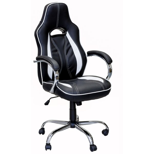 Tormey Series Gaming Racing Style Swivel Office Chair by Ebern Designs