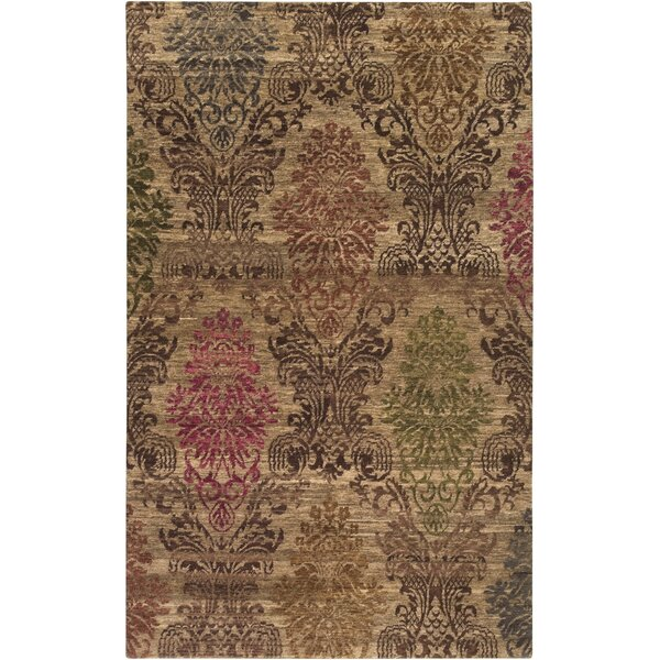 Urrutia Tan Area Rug by Bungalow Rose