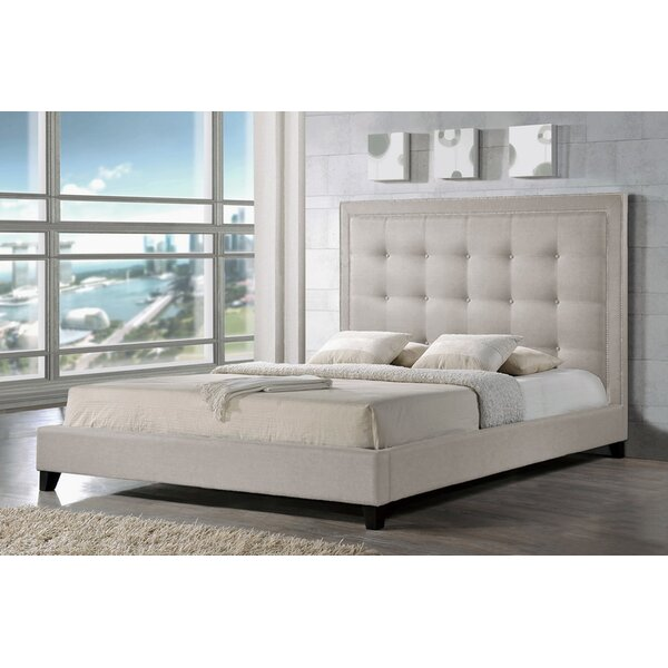 Louth Upholstered Platform Bed by Everly Quinn
