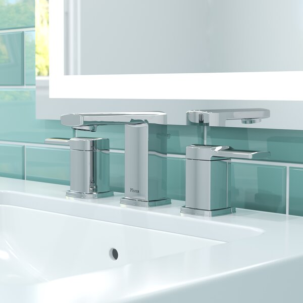 Deckard Widespread Bathroom Faucet with Drain Assembly