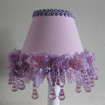 Lilac Dew Drops Night Light by Silly Bear Lighting