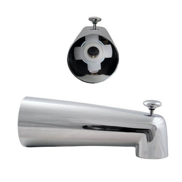 Wall Mounted Tub Spout Trim with Diverter by Westbrass Westbrass