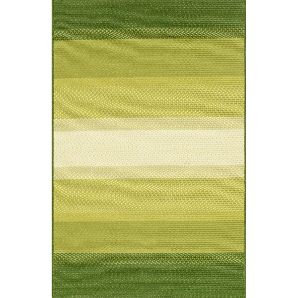 Barta Green Indoor/Outdoor Area Rug by Highland Dunes