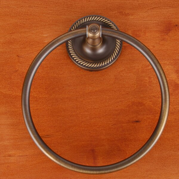 RB Series Wall Mounted Rope Base Towel Ring by Rk International