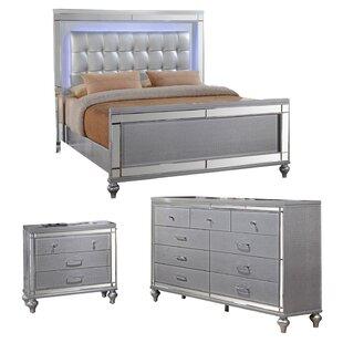 Regents Platform Configurable Bedroom Set ByWilla Arlo Interiors