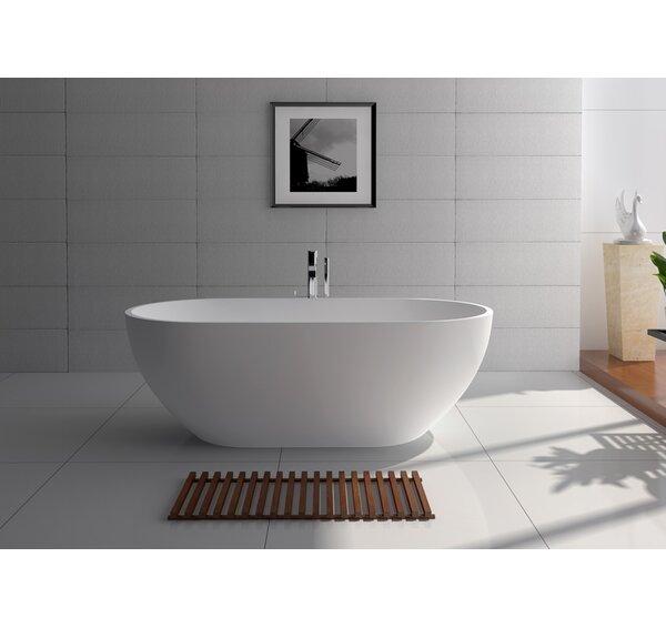 70 x 34.5 Freestanding Soaking Bathtub by Legion Furniture