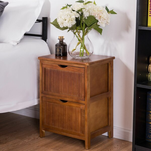 Candleick 2 Drawer Nightstand by Bay Isle Home