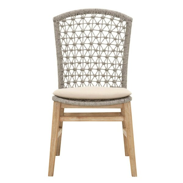 Gutierrez Wooden Armless Upholstered Dining Chair (Set of 2) by Bayou Breeze