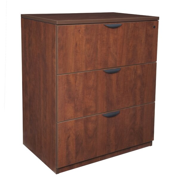 Linh Stand Up 3-Drawer Lateral Filing Cabinet by Latitude Run