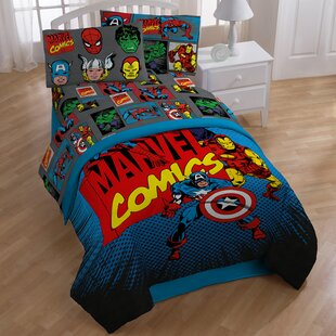 Shop Avengers Superheros Sheet Set By Marvel