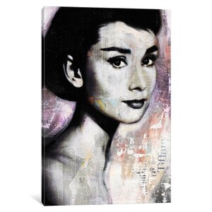 'Audrey' Graphic Art Print on Canvas by East Urban Home