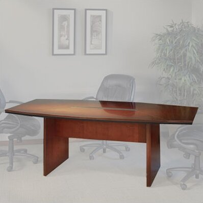 Corsica Series Boat Shaped Conference Table by May
