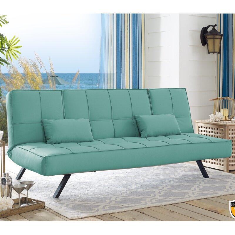 Serta Futons Patio Sofa With Cushions