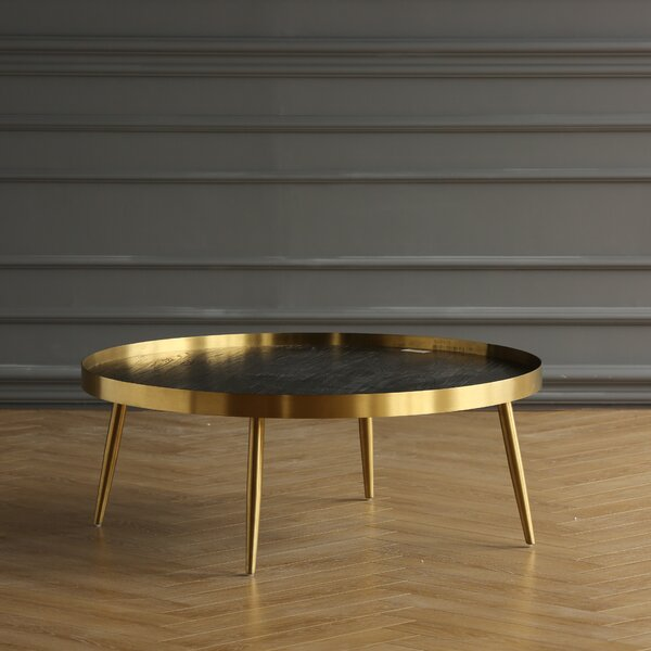 CORNER COLLECTION Wood Top Coffee Tables