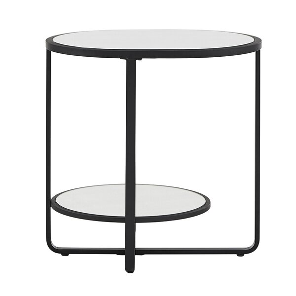 Brendis Cross Legs End Table With Storage By Ivy Bronx