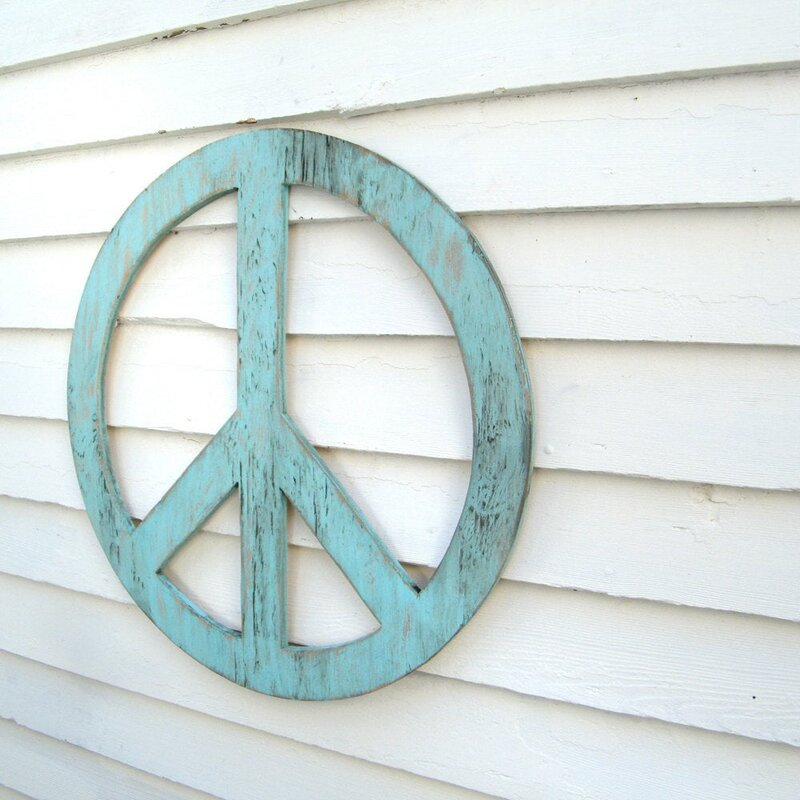 Peace Sign 48 Wall Décor - Peace Sign Wall Decorations