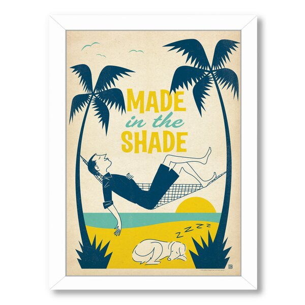 Made In The Shade Framed Vintage Advertisement by East Urban Home