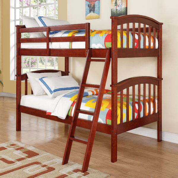 Ilbert Twin over Twin Slat Bunk Bed by Harriet Bee