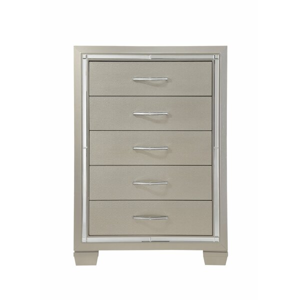 Lawlor 5 Drawer Chest by Rosdorf Park