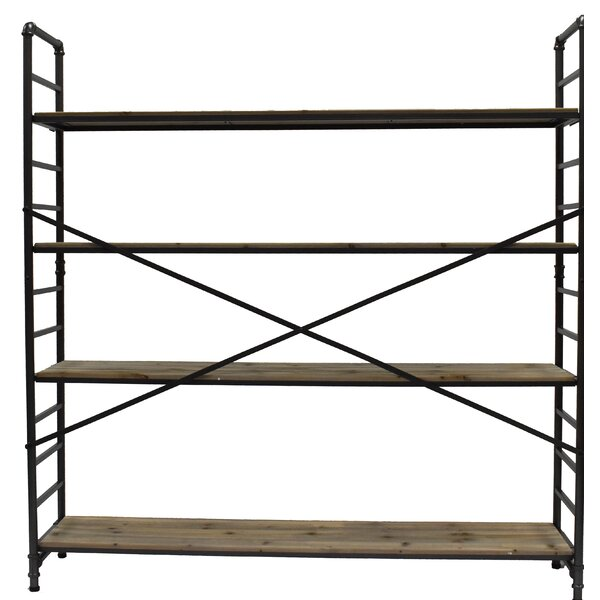 Milligan Shelf 4 Layers Etagere Bookcase by 17 Stories