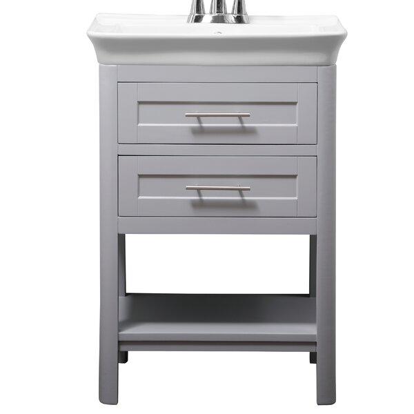 Hary 24 Single Bathroom Vanity Set