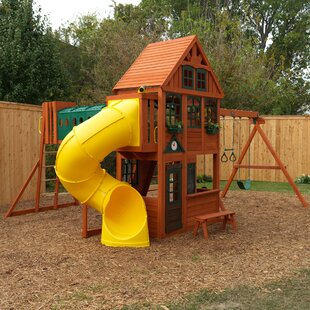Grove Manor Wooden Swing Set