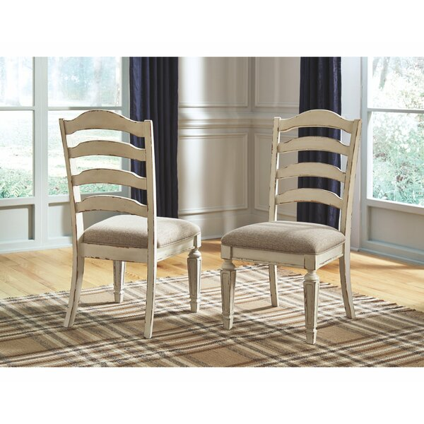 Sara Upholstered Dining Chair (Set of 2) by Ophelia & Co.