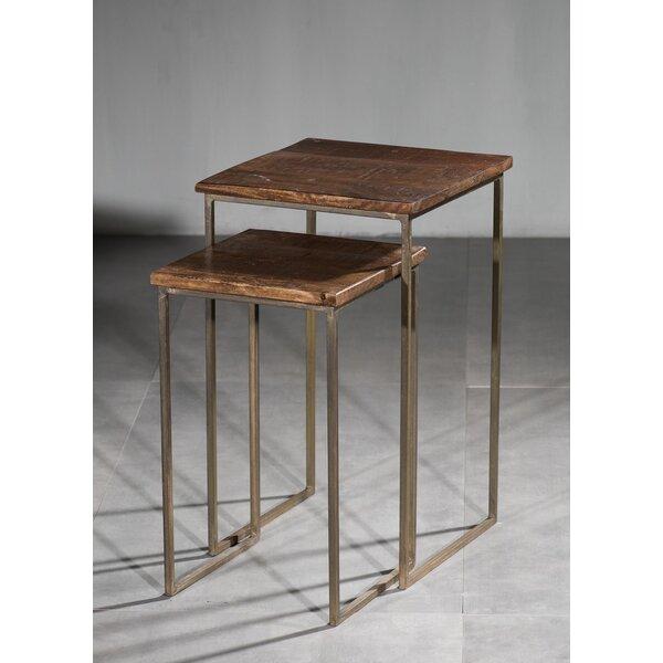 Deals Price Ettinger 2 Piece Nesting Tables