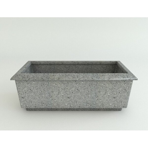 Roma Resin Planter Box by TerraCast Products